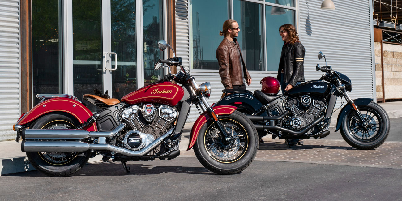 Indian® Scout™ 100th Anniversary Edition